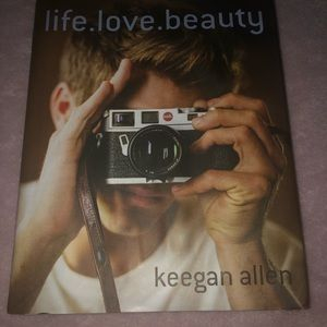 life. love. beauty. book by PLL star Keegan Allen